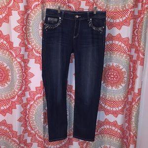 Chico's 0.5 / 6 Platinum Denim Jeans Ultimate Fit